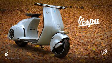 Vespa 98 by Mightyseed Designs