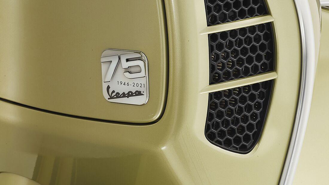 Vespa GTS 75 Jahre Sondermodell