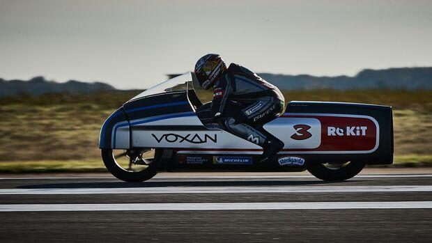 Voxan Wattman Rekordfahrt