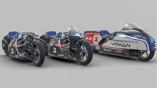 Voxan Wattman Rekordmotorräder