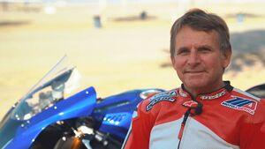 Wayne Rainey R1 Testfahrt