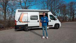 Weinsberg Carabus 630 MEG Outlaw Campingbus für Motorradfahrer
