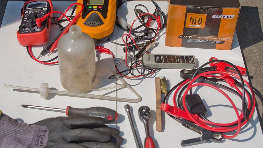 Werkzeug für Kontrolle