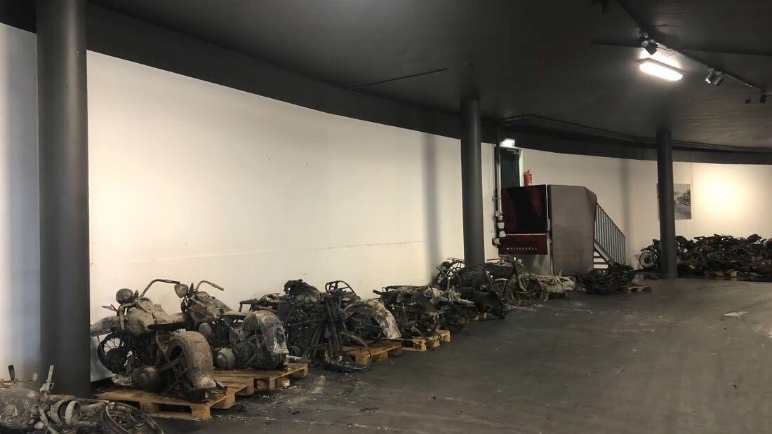 Wiederaufbau Motorradmuseum Timmelsjoch