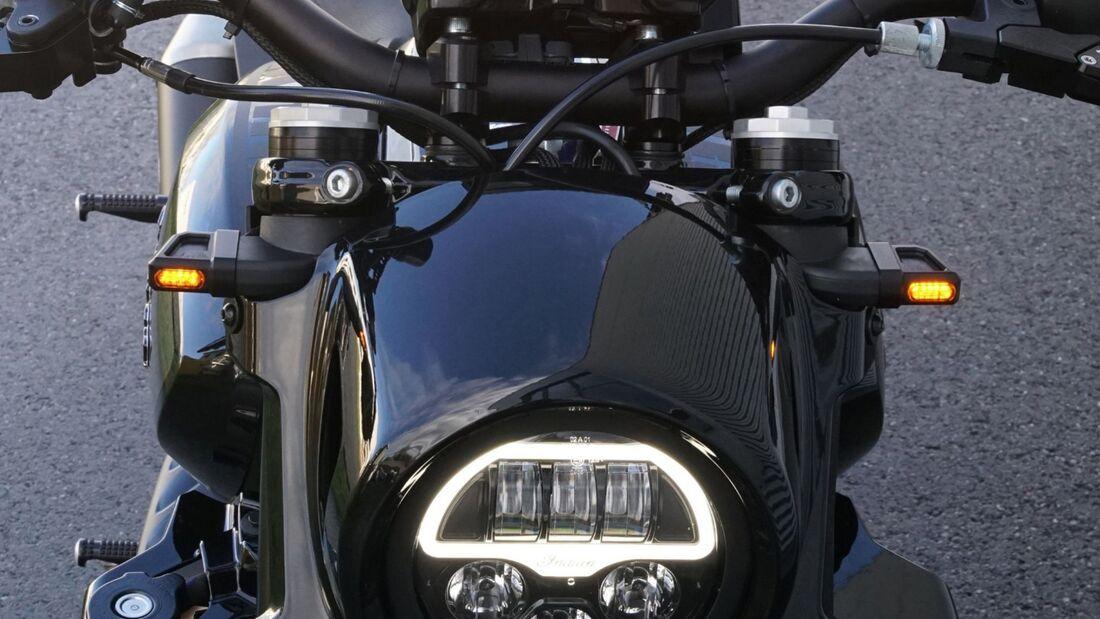 Wunderkind Custom - Zubehör für die Indian FTR 1200.