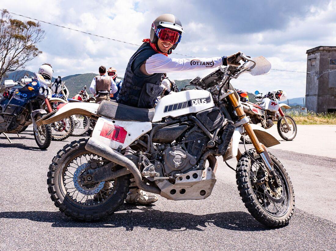 Yamaha Deus Swank Rally 700