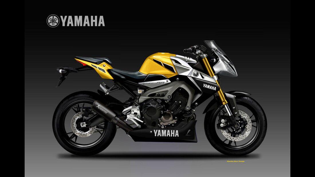 Yamaha FZ-09 RR Concept.