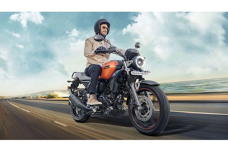 Yamaha FZ-X 150: Crossover-Bike für Indien
