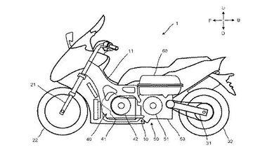 Yamaha Hybrid Patent