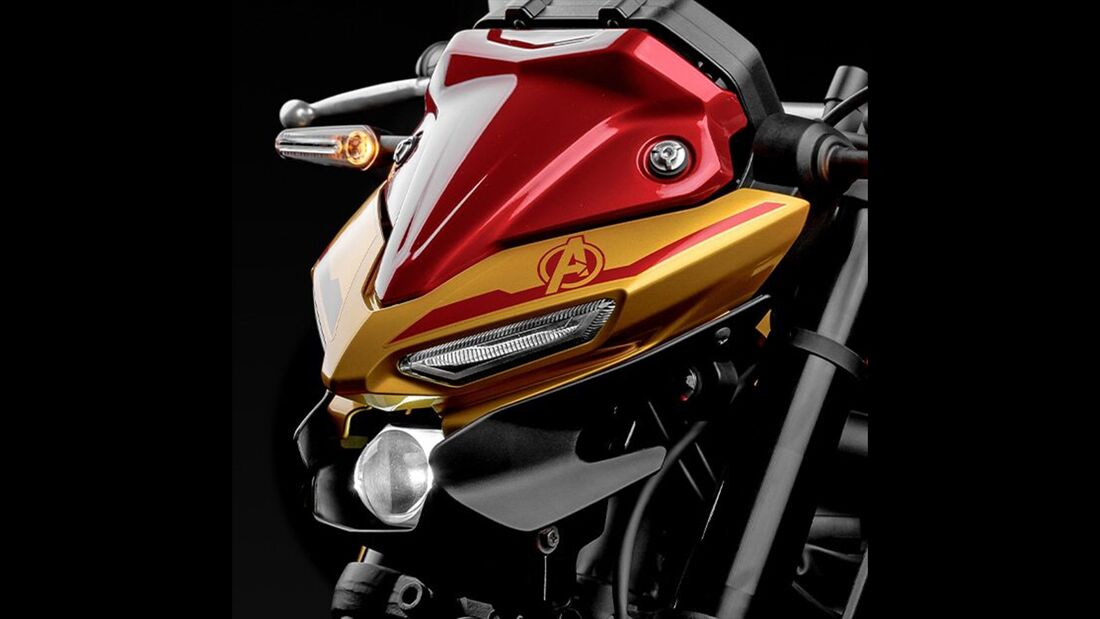 Yamaha MT-03 Iron Man