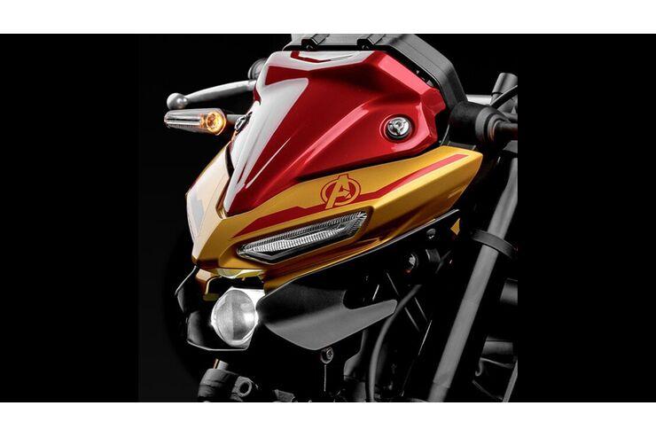 Yamaha MT-03 Iron Man: Yamaha Brasilien mit Sondermodell
