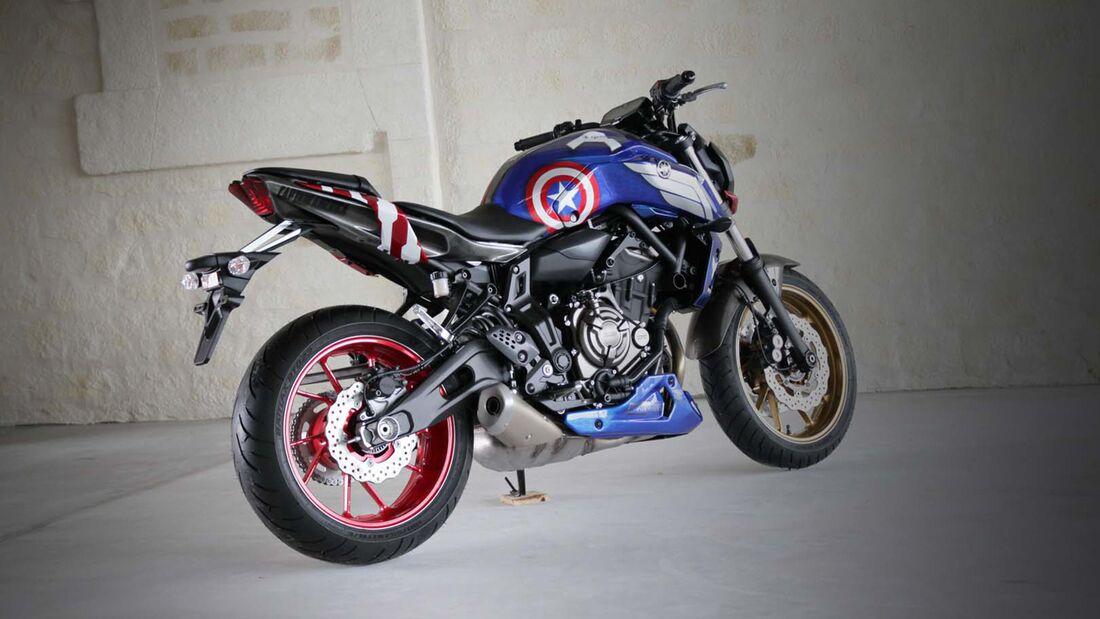 "Yamaha MT-07 ""Captain America"" von AD Koncept."