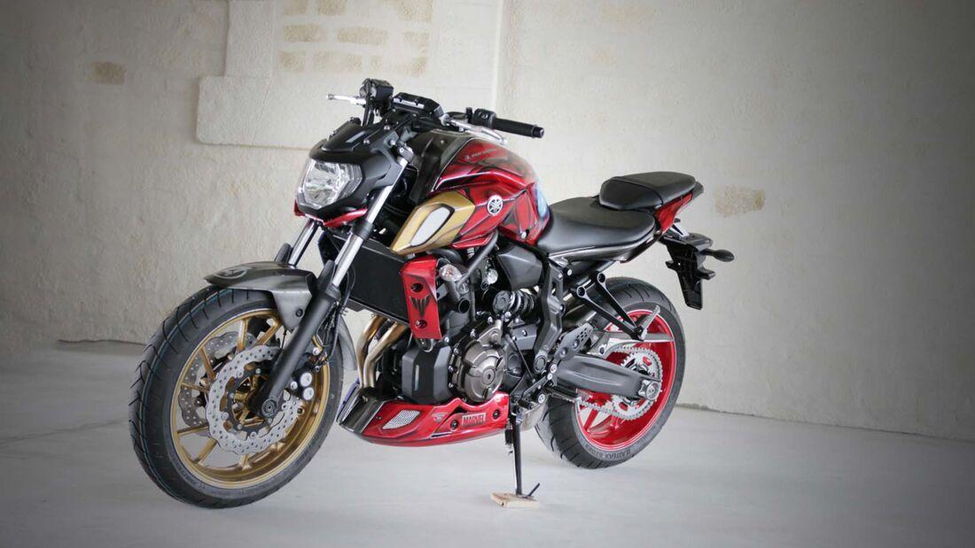 "Yamaha MT-07 ""Iron Man"" von AD Koncept."