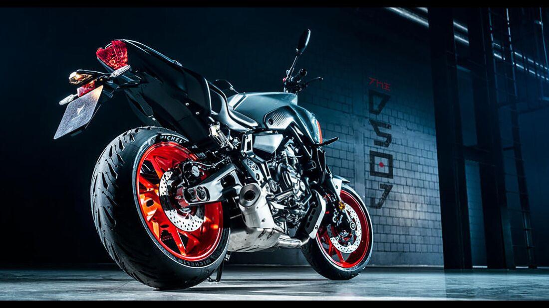 Yamaha MT-07 Modelljahr 2021