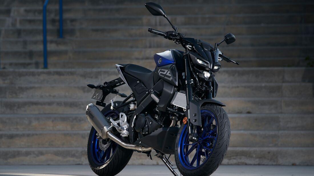 Yamaha MT-125.