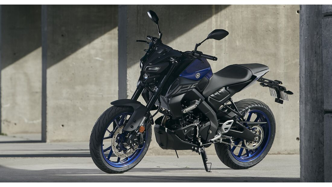 Yamaha MT-125 Sportpaket