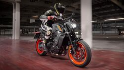 Yamaha MT09 2021 Fahrbericht