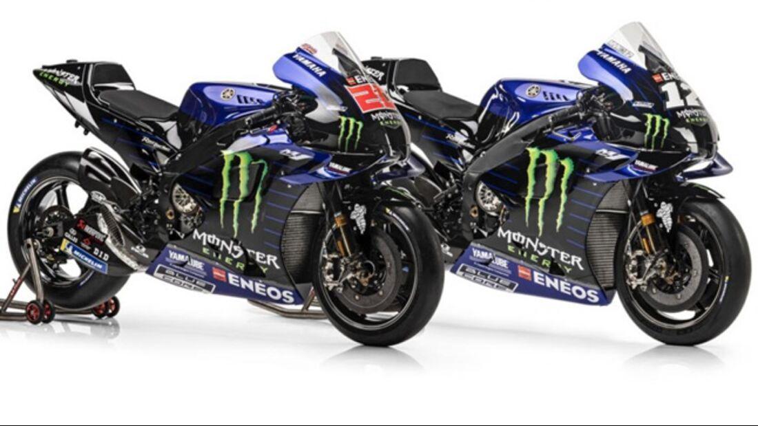 Yamaha Moto GP 2021