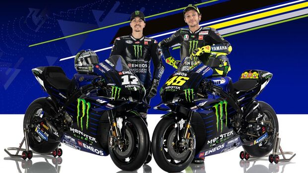 Yamaha-MotoGP-Teampräsentation 2020.