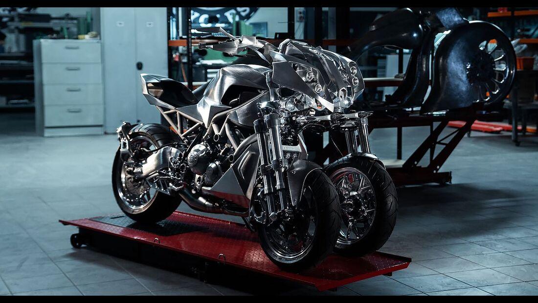 Yamaha Niken GOC Custom