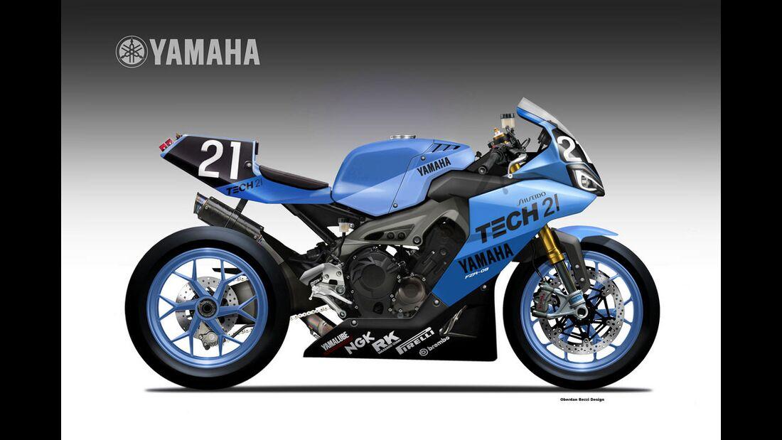 Yamaha Racer Sons.