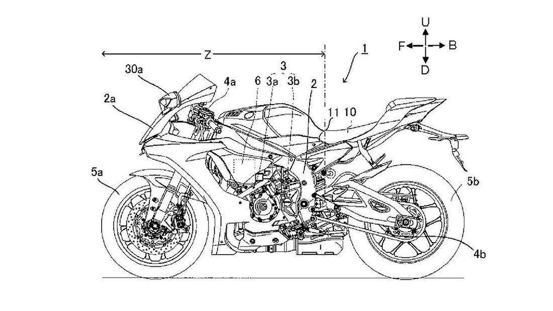 Yamaha Radar Patent