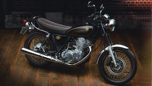 Yamaha SR 400 Final Edition Japan