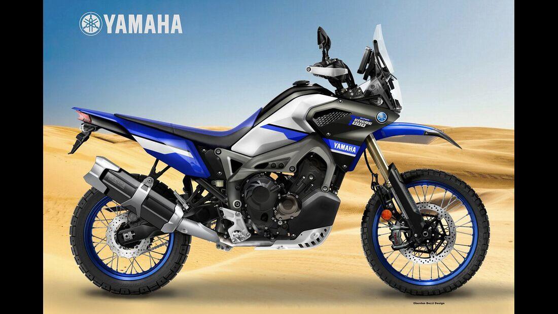 Yamaha Super Ténéré 1000.