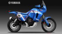 Yamaha Ténéré 700' PD Heritage Concept von Oberdan Bezzi.