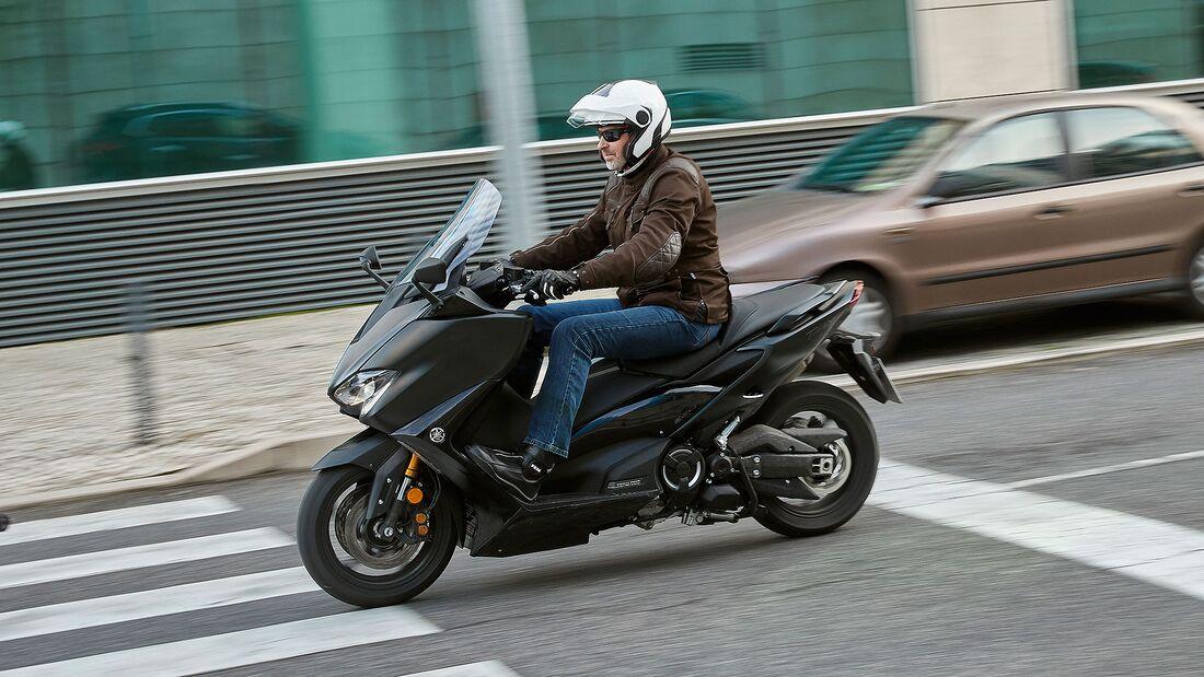 Yamaha TMax 560 Fahrbericht