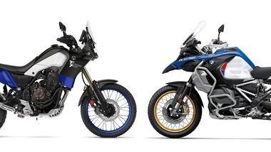 Yamaha Tenere 700 und BMW R 1250 GS