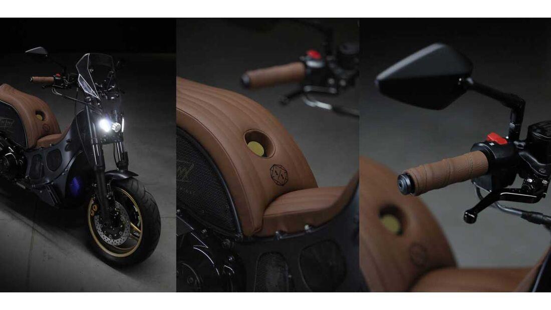 Yamaha Tmaxx Custom Unikat