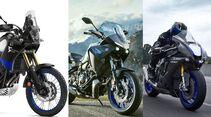 Yamaha Tracer 700 Modelljahr 2020 und Tenere 700