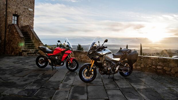 Yamaha Tracer 9 und Tracer 9 GT Fahrbericht