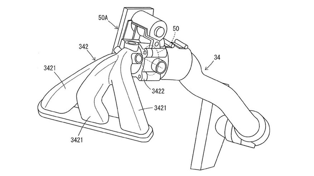 Yamaha Turbpo-Triple Patent