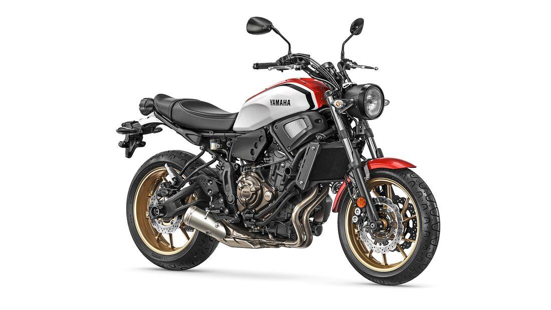 Yamaha XSR 700.