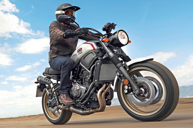Yamaha XSR 700 XTribute im Test: MT-07 trifft XT 500
