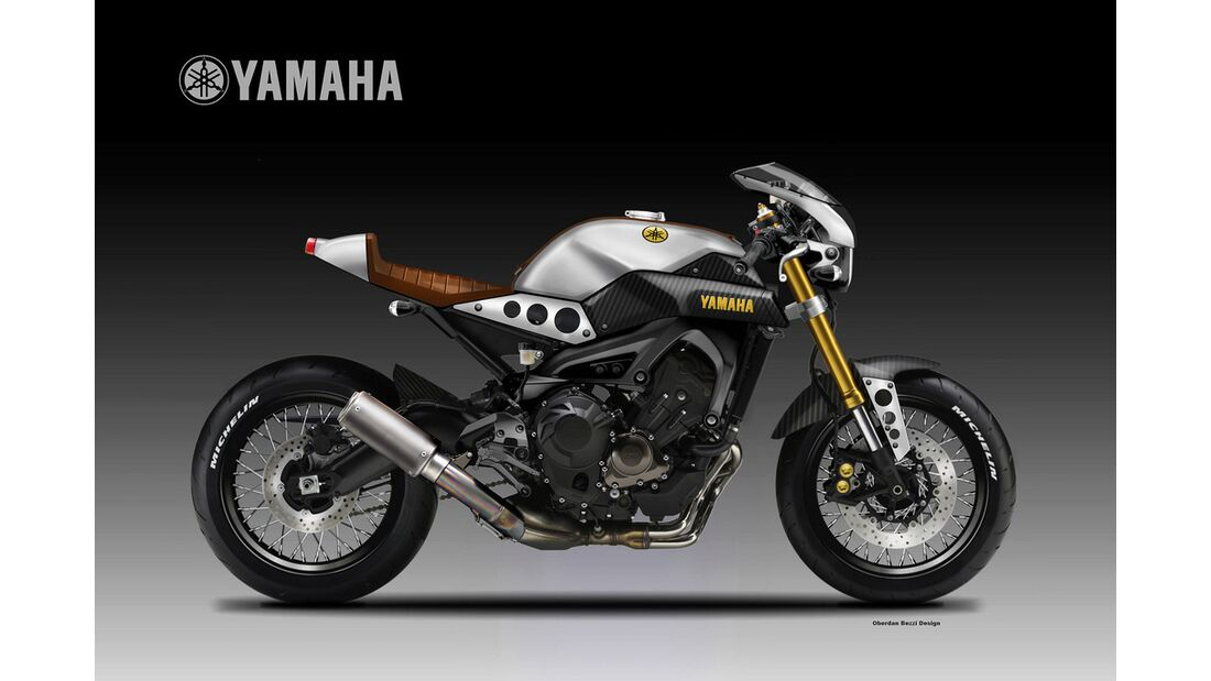 Yamaha XSR 900 Mashup.