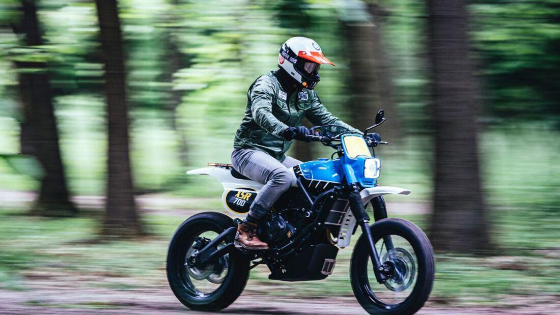 Yamaha XSR TT 700 von Capelos Garage und Elemental Rides