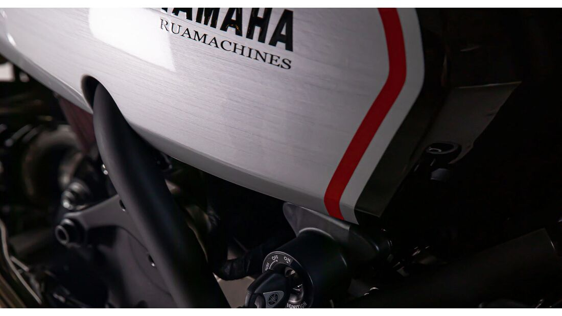 Yamaha XSR700 GT Yard Built