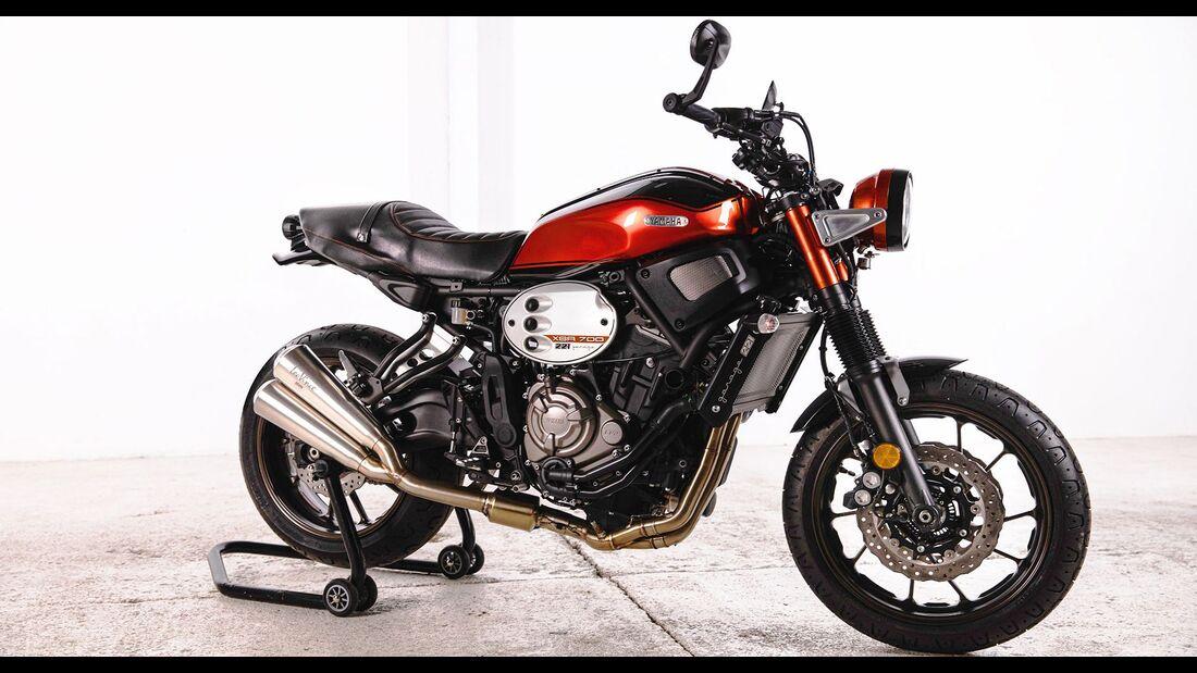 Yamaha XSR700 RD350 Tribute Tail Yard Built