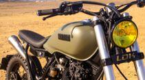 Yamaha XT 600 Army Scrambler Umbau Lord Drake Kustoms