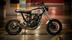Yamaha XT 600 Custom 86 Gear