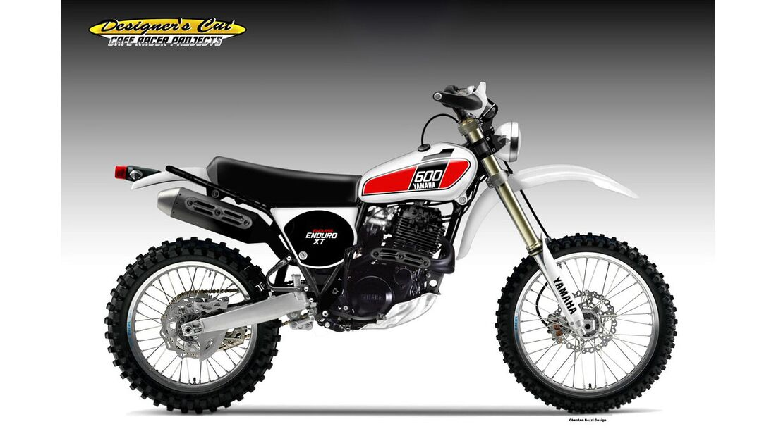 Yamaha XT-600 Endless.