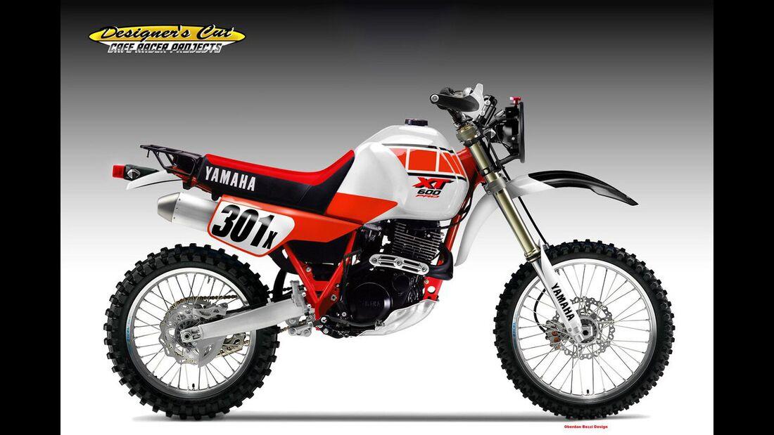 Yamaha XT-600 Pro Desert Son.