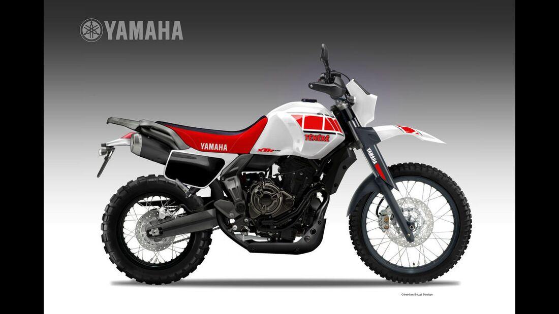 Yamaha XTR 700 Ténéré.