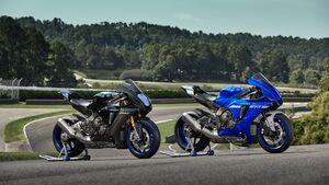 Yamaha YZF-R1 Modelljahr 2020 und Yamaha YZF-R1M Modelljahr 2020
