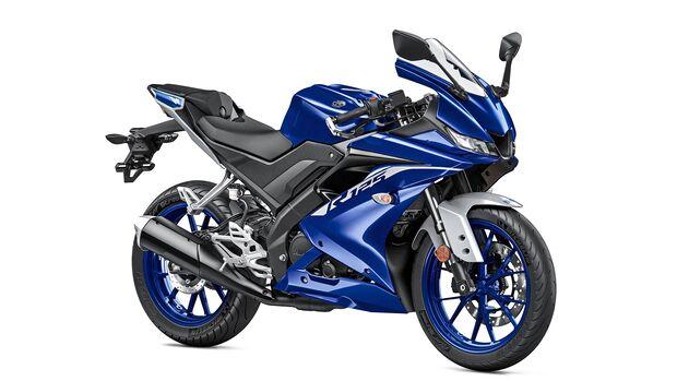 Yamaha YZF-R125.