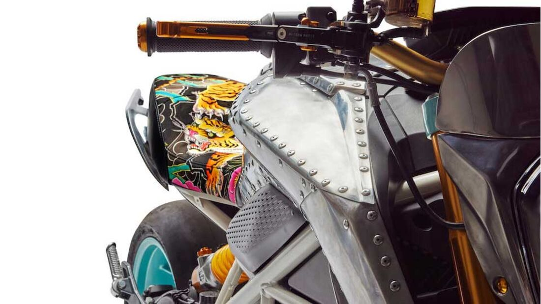 Zero Custom Bike Tinker Hatfield