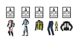 Zertifizierte Motorradbekleidung: Fünf neue Schutzstandards.